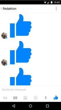 Facebook Messenger in Kinderhänden (1)