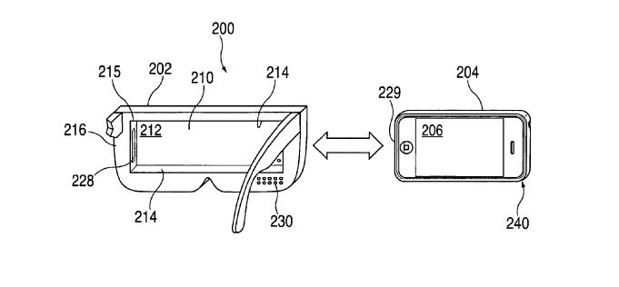 apple bekommt patent f r eigene vr brille mit iphone. Black Bedroom Furniture Sets. Home Design Ideas