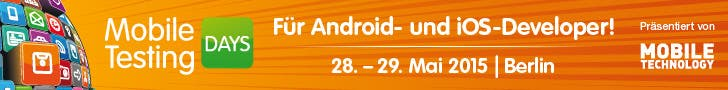 Mobile Testing Days 2015