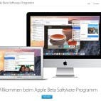 Apple Beta Programm