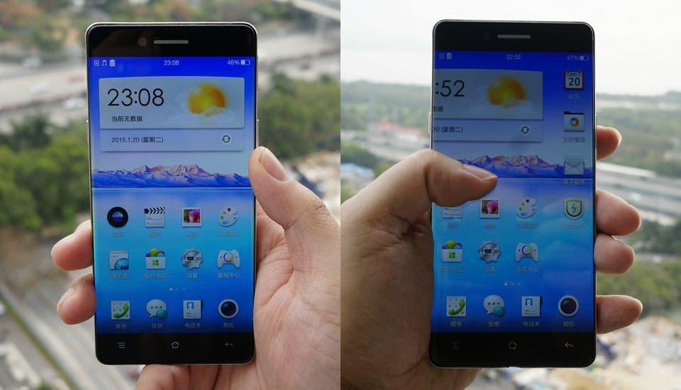 Oppo Smartphone Display