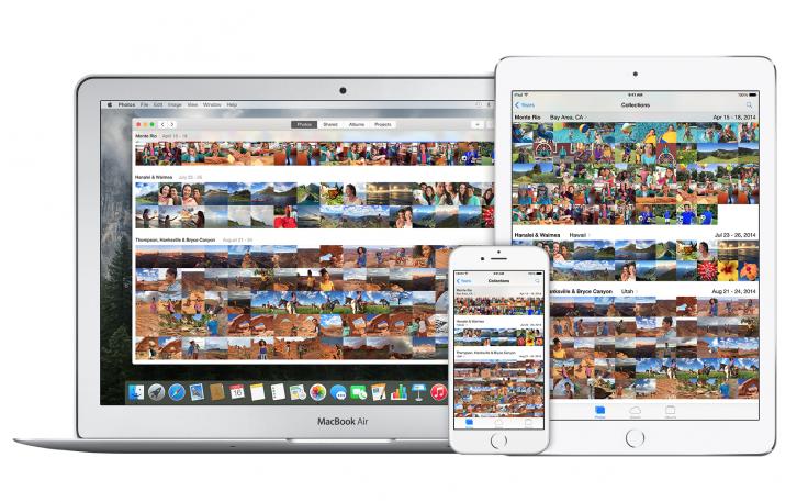 Apple Foto Mediathek