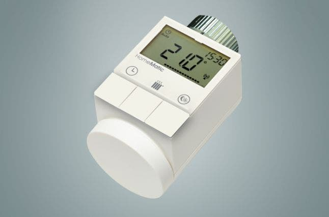 HomeMatic Funk Heizköperthermostat
