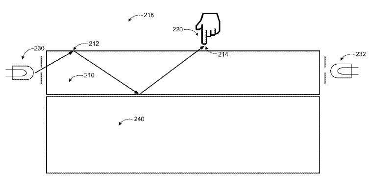Microsoft Patent Deskinfektion von Touchscreens