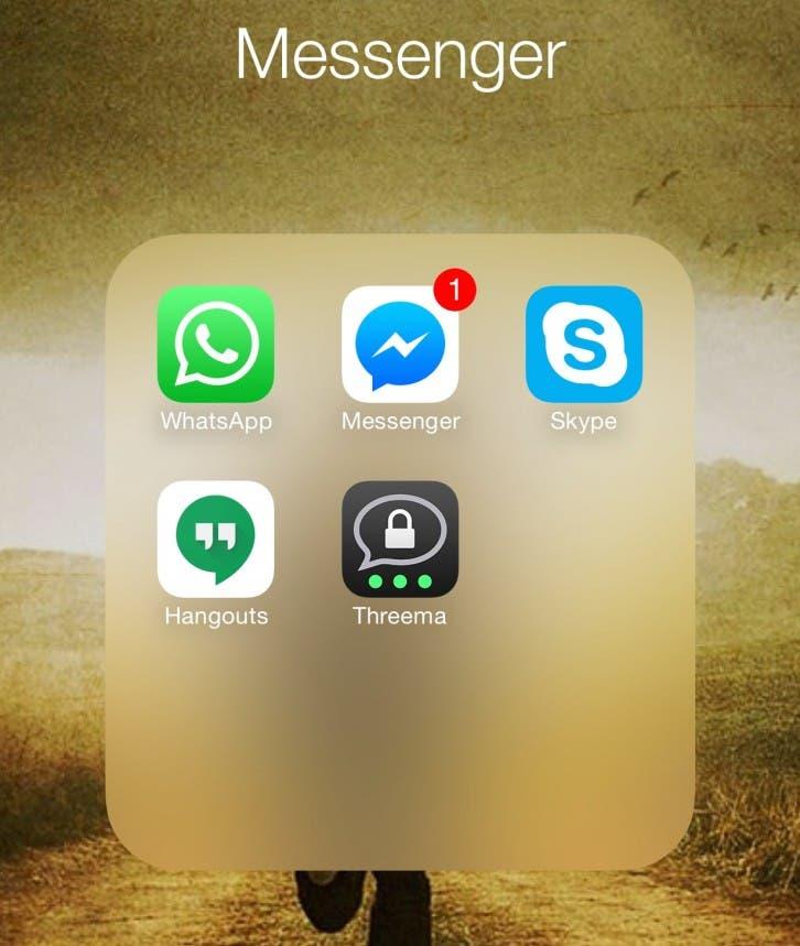 Messenger unter iOS