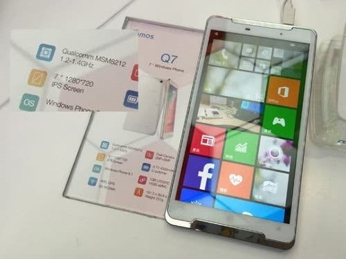 Ramos Q7 Smartphone mit 7 Zoll