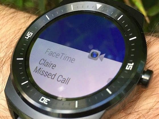 FaceTime auf Android wear