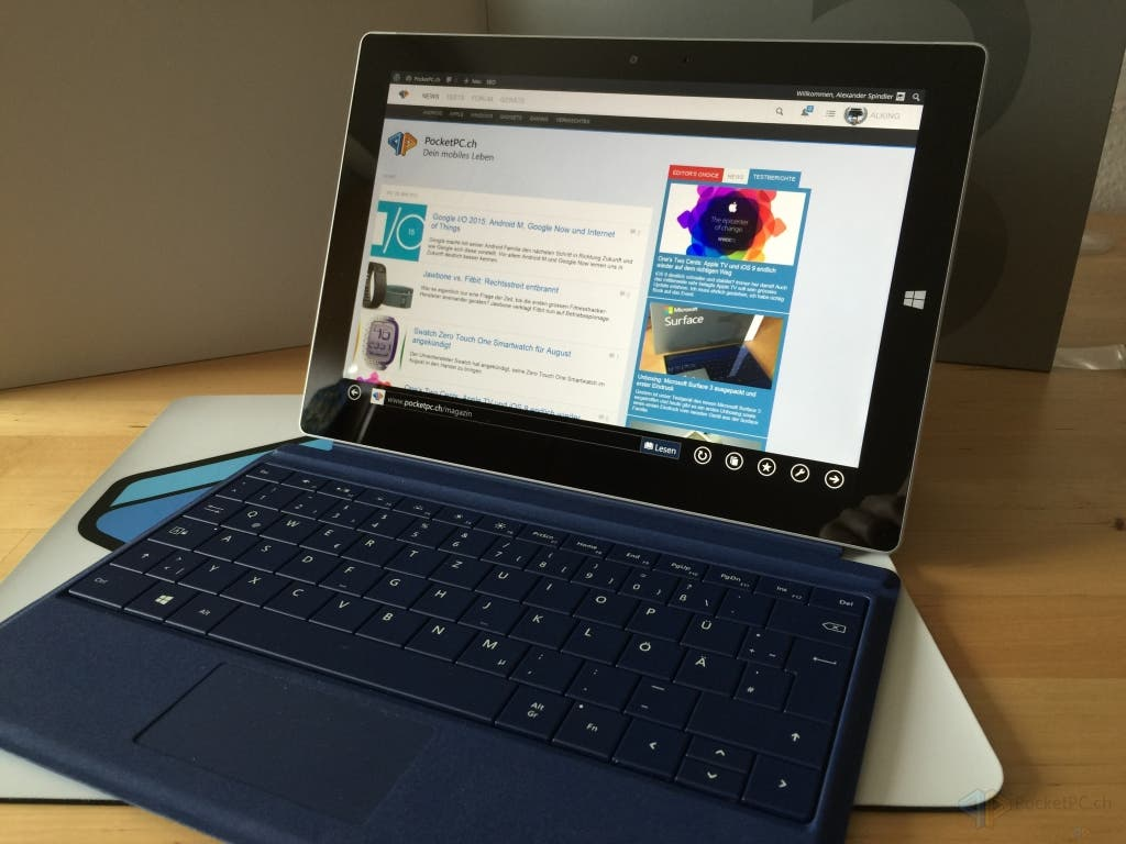 20150529_073446704_iOS1 Review: Das Microsoft Surface 3 im Test