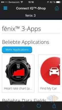 fenix 3 Apps