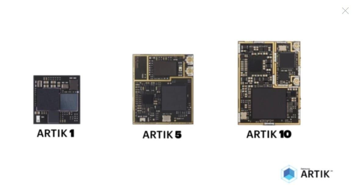 Artik Prozessoren von Samsung