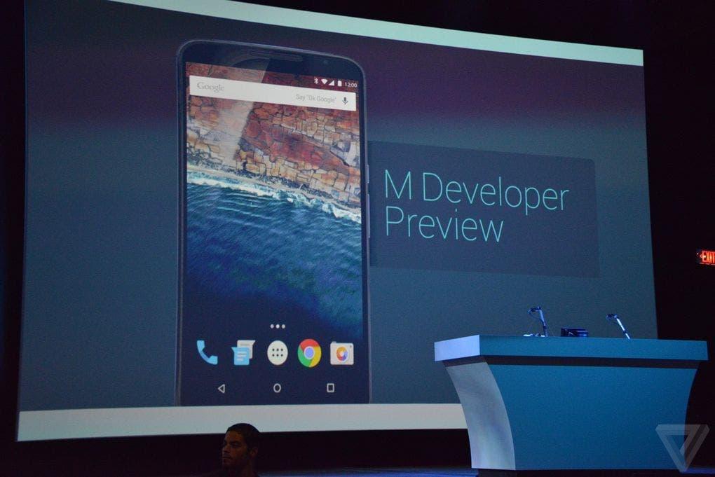 Google I/O 2015 Android M