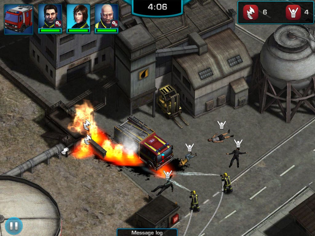 Rescue Heroes in Action Screenshot