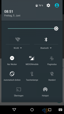 Android M Hotspot