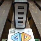 Hama USB-Ladegerät mit 4 Buchsen