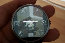 Android Wear Remote Shot for Moto360