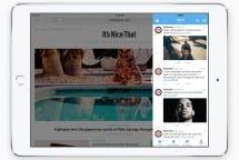 iOS 9 iPad Slide Over