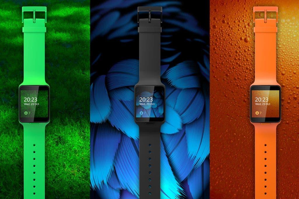 Microsoft Moonraker Smartwatch
