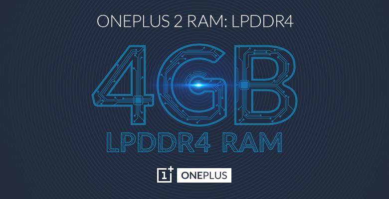 OnePlus 2 LPDDR4 Teaser