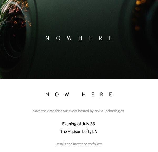 Nokia Event 28. Juli