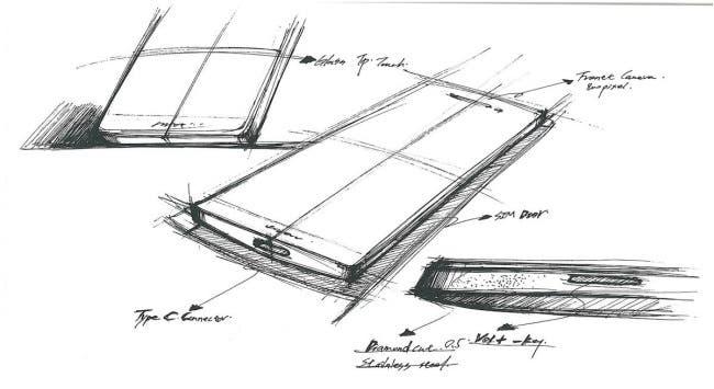 OnePlus 2 Skizze
