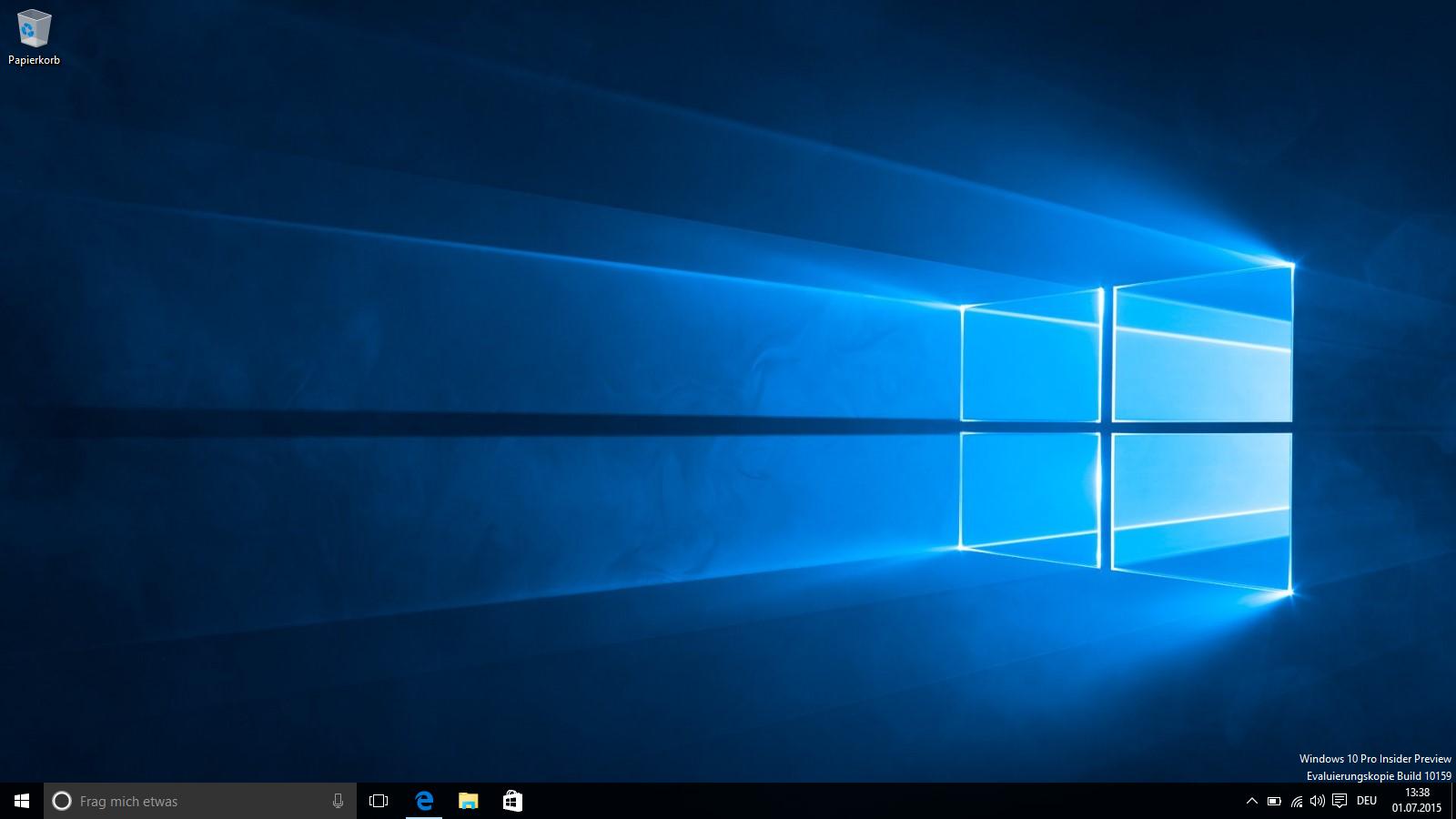 Windows 10 Build 10159 Screenshot