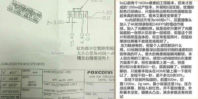 iPhone 6s Dokument