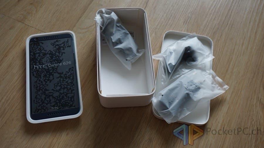 HTC Desire 626 Unboxing
