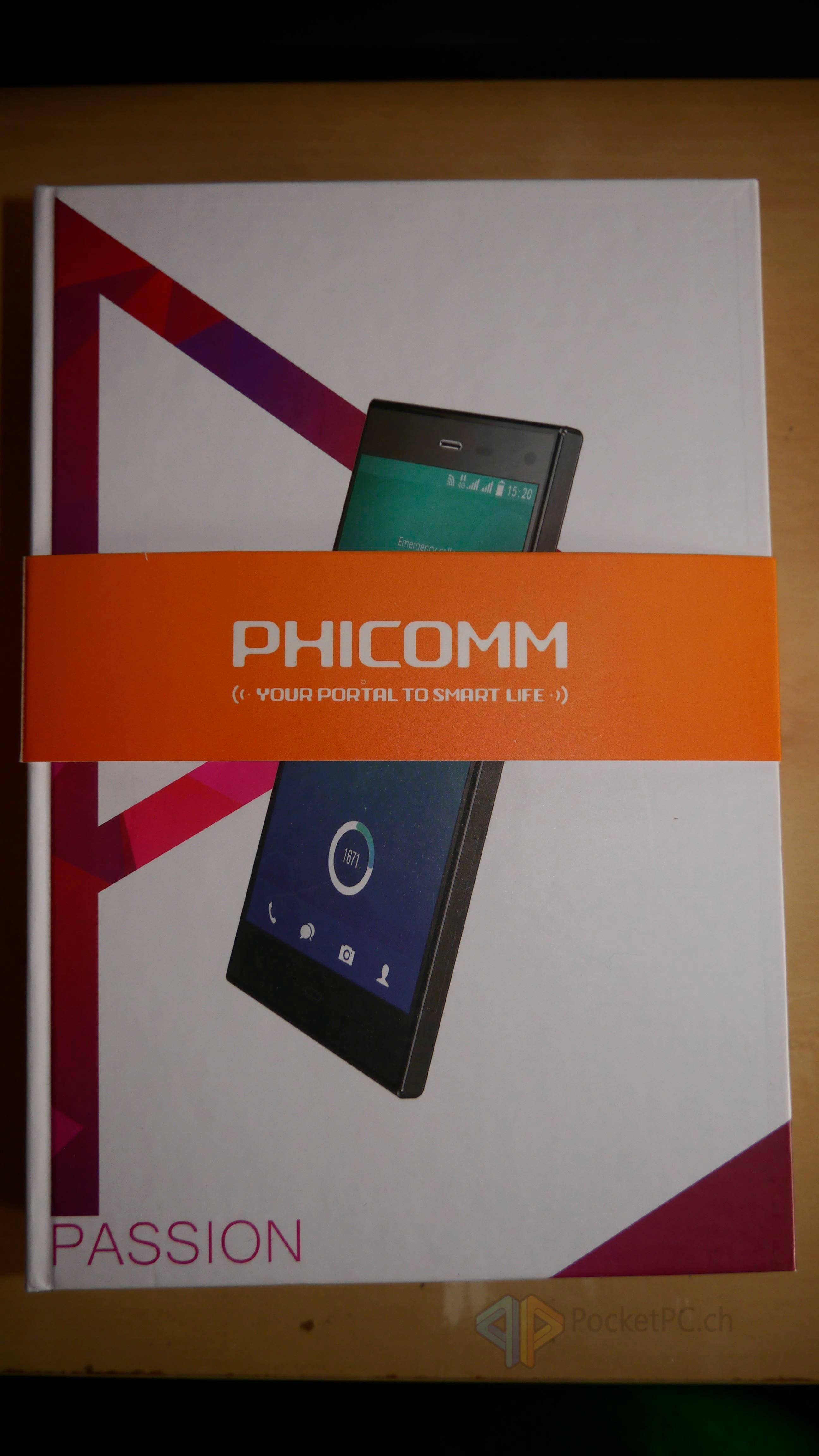 Phicomm Passion Gerät ausgepackt (1)