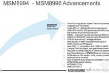 Snapdragon 820 hardware details