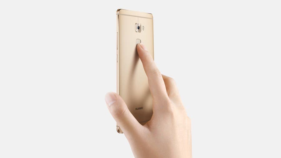 Huawei Mate S_Fingerprint