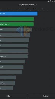 Samsung Galaxy Tab S2 Benchmark