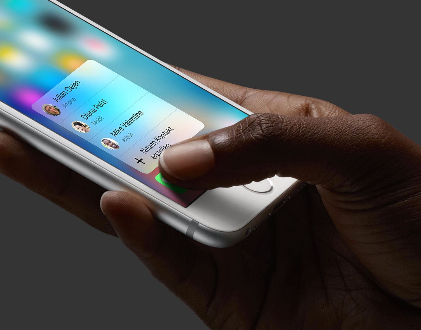 iPhone 6s Force Touch