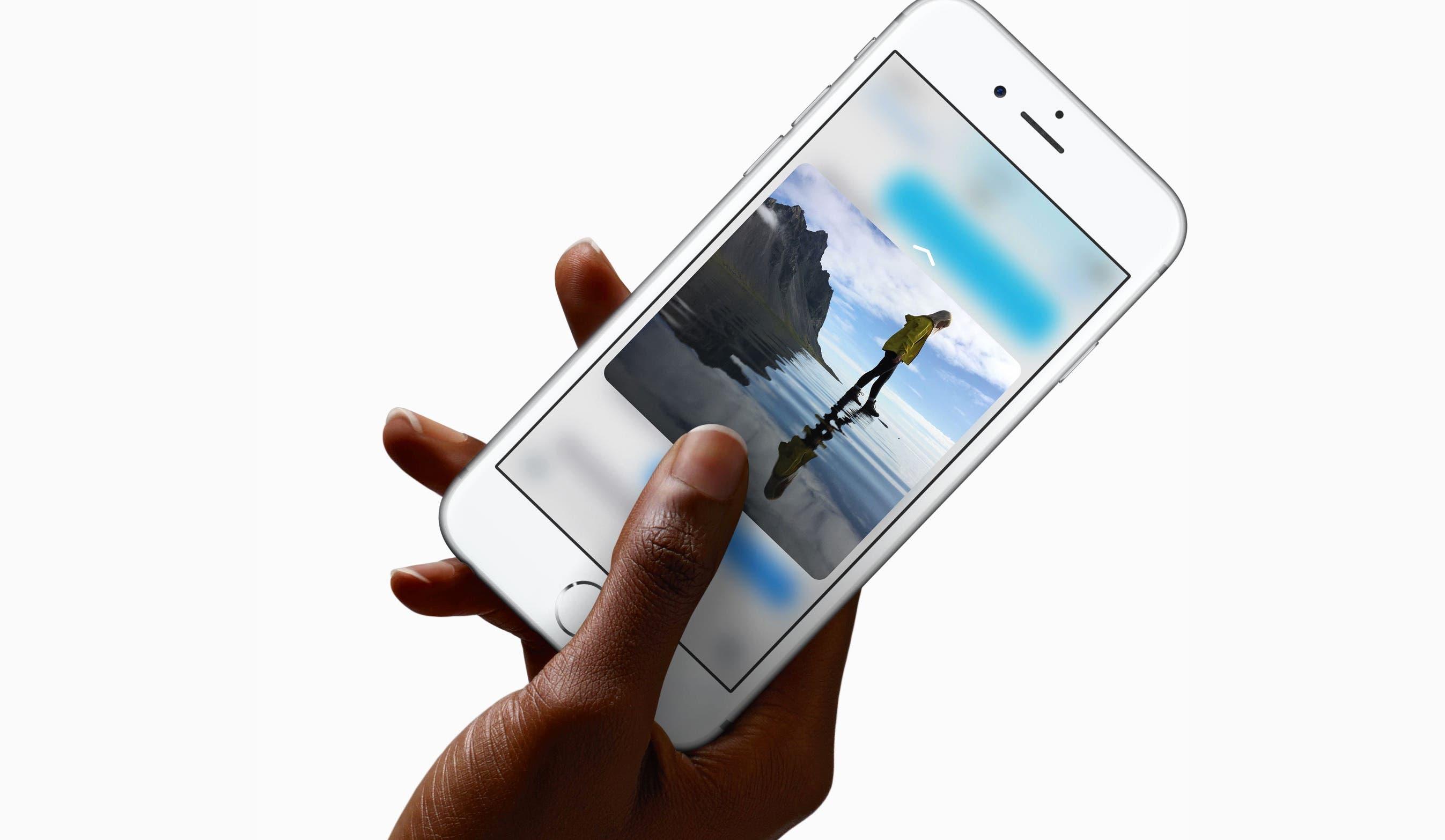iphone-6s-3d-touch_2 One's Two Cents: Apple bekommt den Karren kaum noch aus dem Dreck