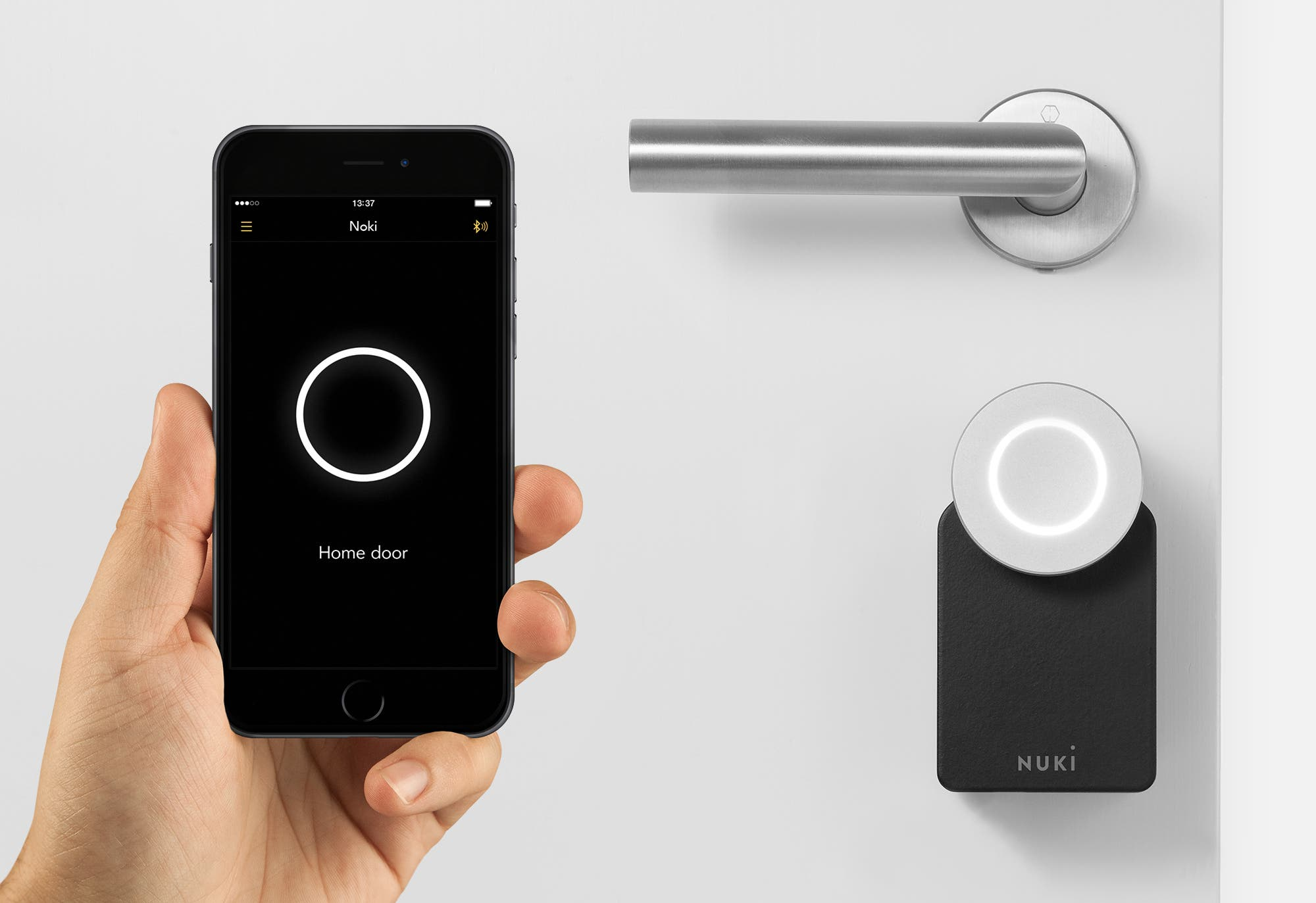 das smarte t rschloss nuki keyturner versp tet sich. Black Bedroom Furniture Sets. Home Design Ideas