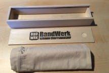 Verpackungsinhalt der Bandwerk-Armbänder