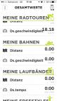 Screenshot iOS App TomTom