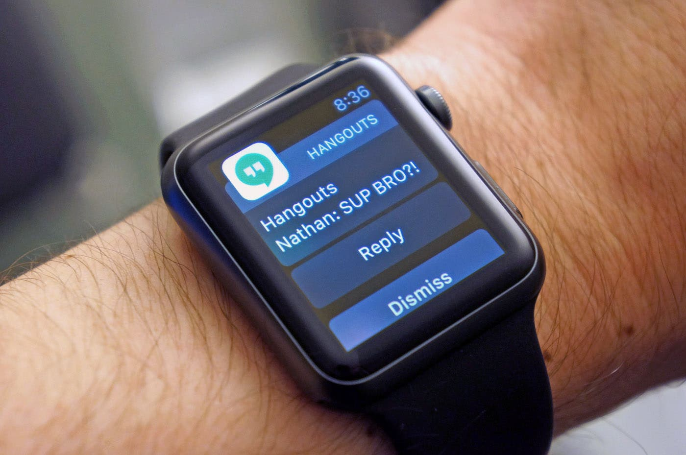 Hangouts Apple Watch iOS