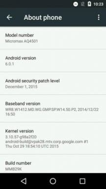 Android 6.0.1 Android One Nexus