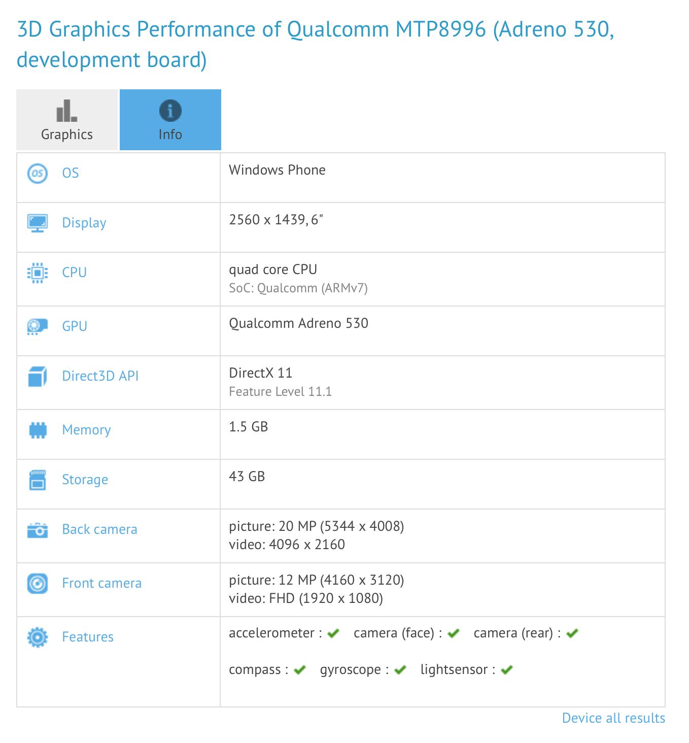 Windows 10 Snapdragon 820