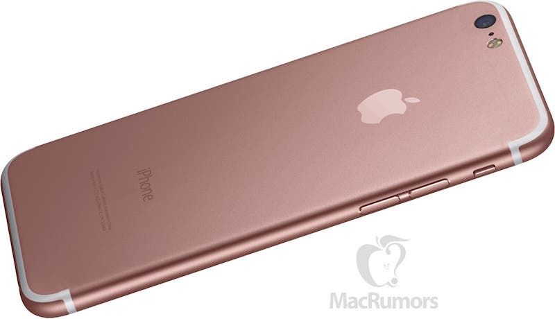 iPhone 7 Render by MacRumors
