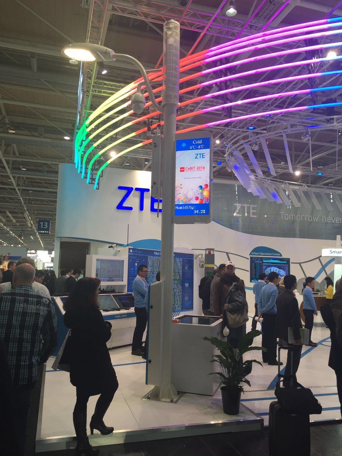 ZTE BluePillar