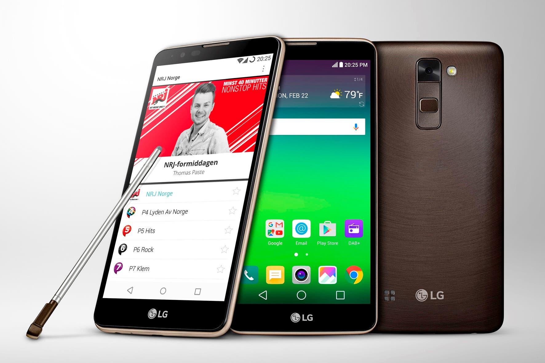 LG Stylus 2 DAB+