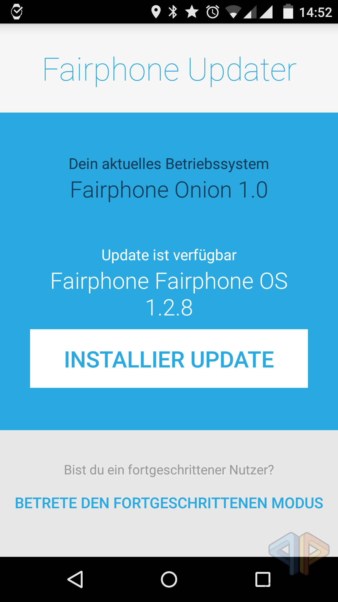 Fairphone Update 1.2.8