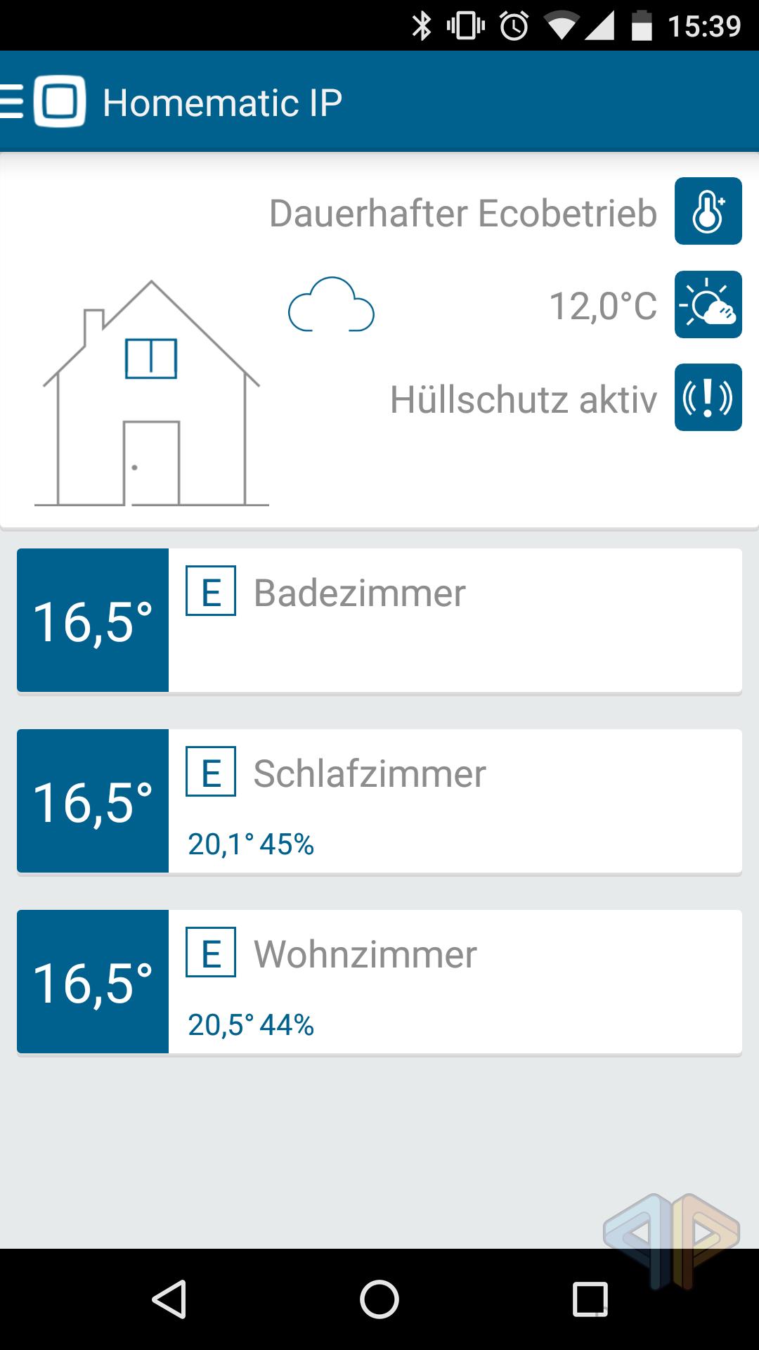 homematic ip heizungssteuerung per smartphone app. Black Bedroom Furniture Sets. Home Design Ideas