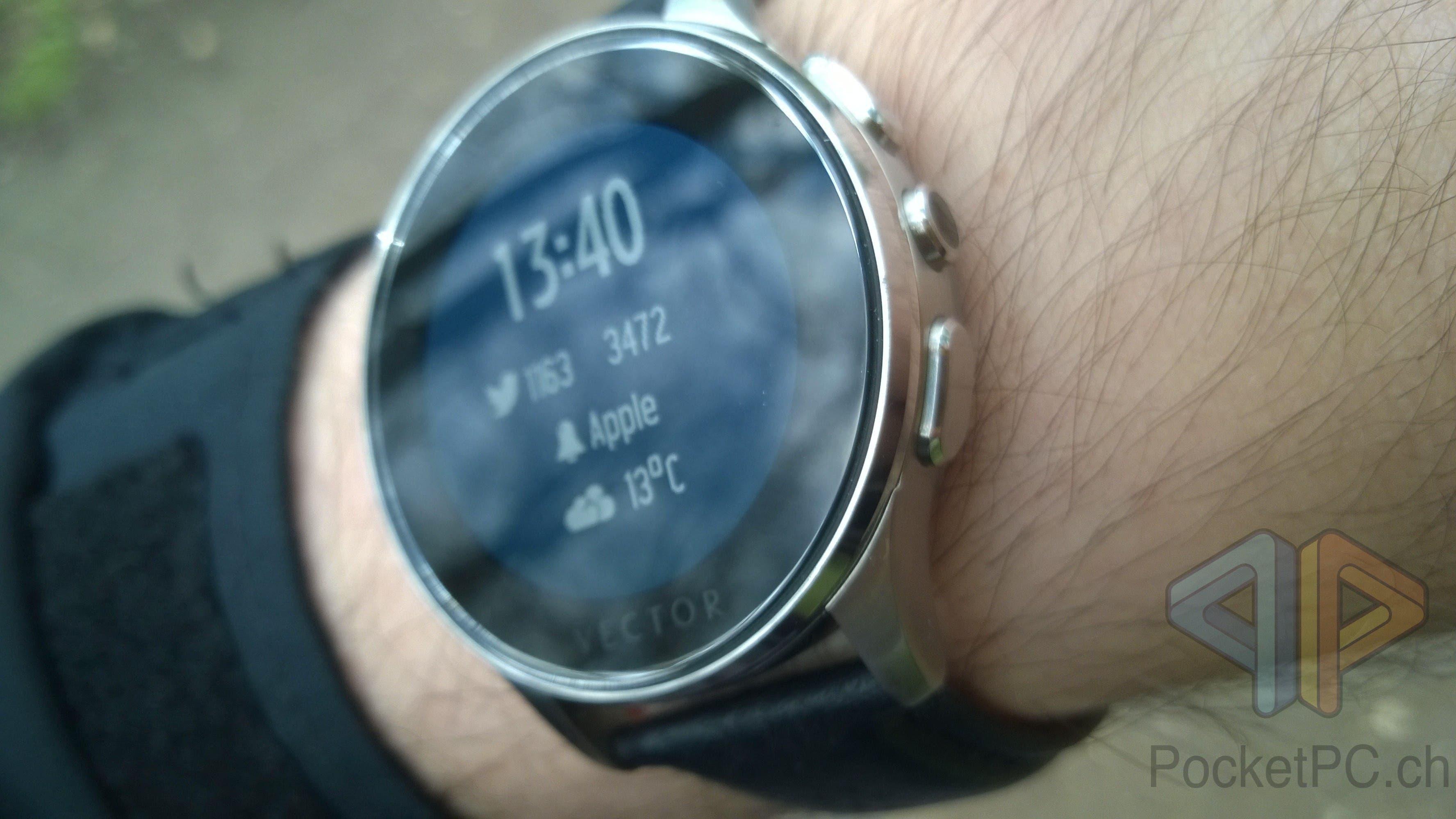 Vector Watch Luna Display