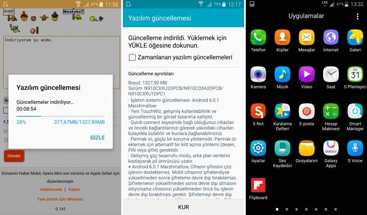Galaxy Note 4 Android 6.0.1