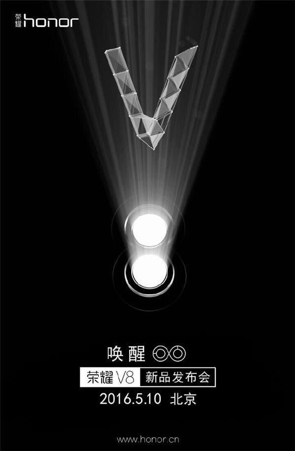Honor V8 Teaser