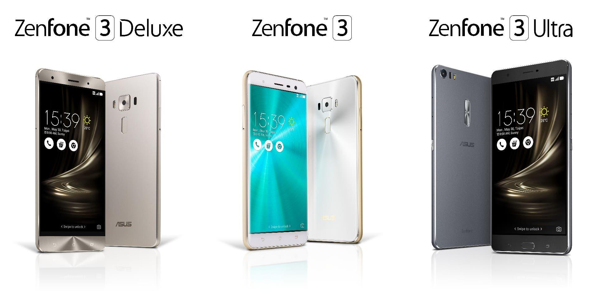ASUS ZenFone 3 Modelle