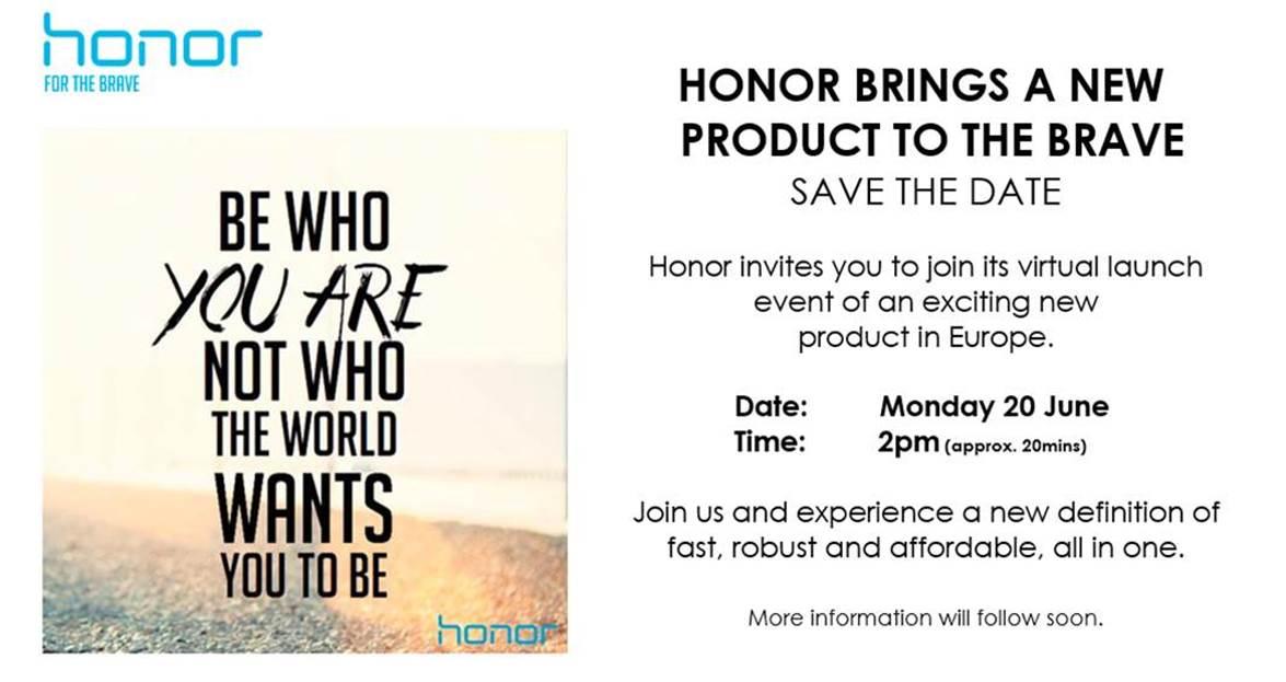 Honor Einladung