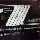 Galaxy Note 7 edge invite